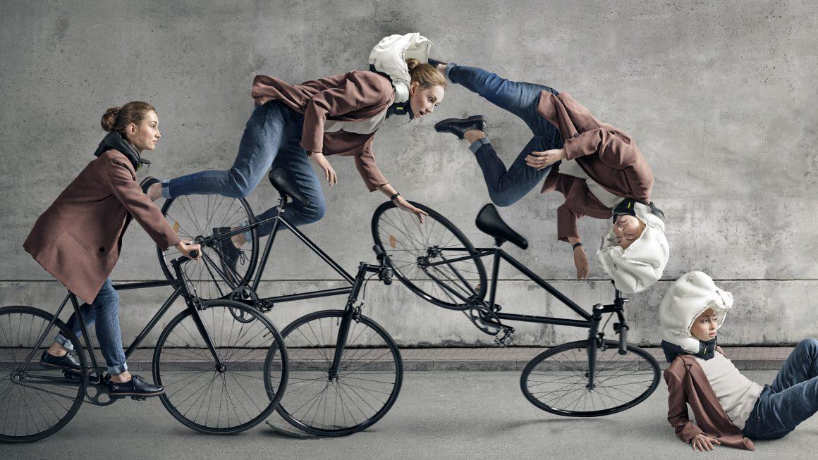 Sicher. Radfahren.