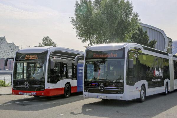 Linienbusse auf der Überholspur